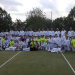 Vystúpenie karate Sokol Ilava 2019 100.r.športu v Ilave 1086